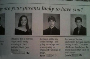 Hahaha! These are some of the worst yearbook quotes ever... but they ...