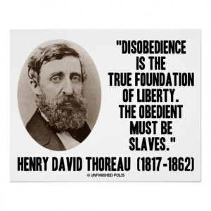 Henry David Thoreau Civil Disobedience These rules are called laws