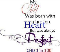 correction my children were born with broken hearts
