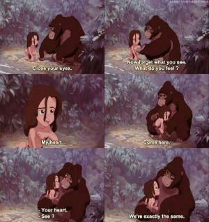 Tarzan. Life quotes
