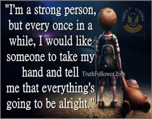 strong person, Stay Strong Quotes and Sayings