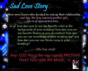 sad love story.... by xxice