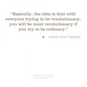words on design _ on being revolutionary