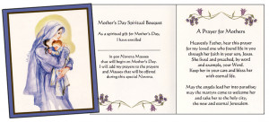 Mother's Day Novena for the Deceased