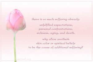 There is so much suffering already: Unfulfilled expectations, Personal ...