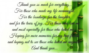 Just Saying Thank You Quotes
