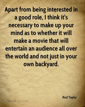 Rod Taylor Quotes