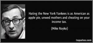 Hating the New York Yankees is as American as apple pie, unwed mothers ...