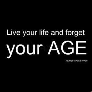 Live your life and forger your AGE