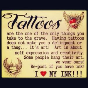 LOVE MY INK