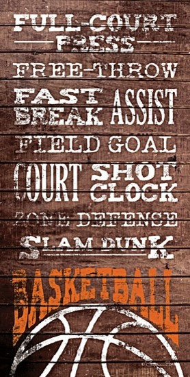 Basketball Sayings Print contemporary-prints-and-posters