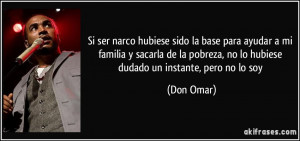 Frase de Don Omar