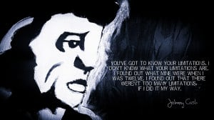Wallpapers Johnny Cash Your Limitations Quotes Pictures Updated Daily ...
