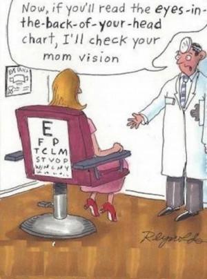 Mom vision cartoon