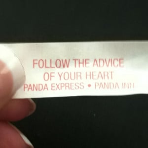 Fortune cookie quotes