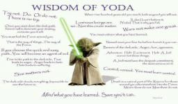 Wisdom Of Yoda - Star Wars Jedi