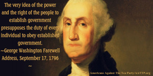 The very idea of the power and the right of the people to establish ...