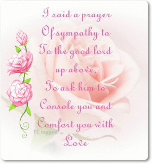 ... Prayer Blessed, Loss Of Mothers Sympathy Art, Sympathy Quotes, Clips