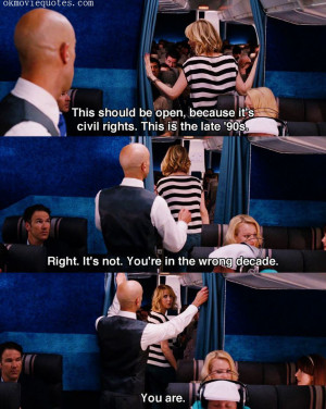 Bridesmaids quotes THis should be open, because it's civil rights ...