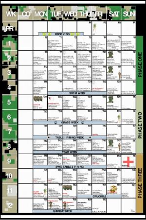 Marine Corps Boot Camp Calendar http://www.mcrdpi.marines.mil/Portals ...