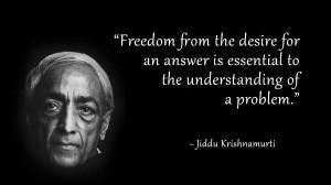 Jiddu, Krishnamurti, Quote, Understanding, Problems, Vanda Scaravelli ...