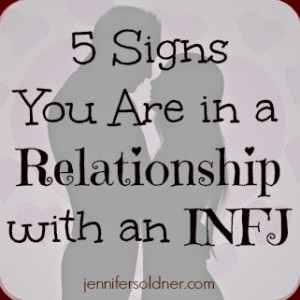 Signs You Are in a Relationship with an INFJ