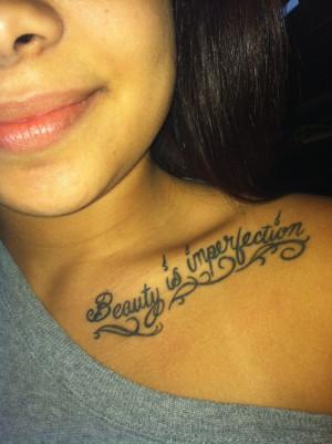 collar bone tattoo Bones Tattoo 3, Collar Bone Tattoos, Quote, Tattoo ...