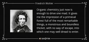 Friedrich Wohler Quotes