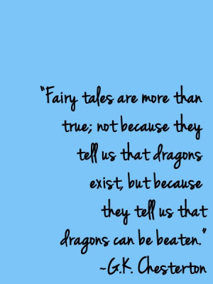 Believe in fairy tales #dragonslayer