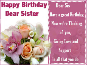 ... birthday quotes for birthday sister quote happy birthday sister quotes