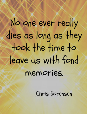 Have you lost a loved one? How did you grieve their loss?