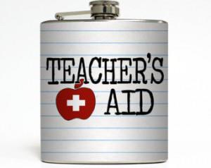 Funny Liqui d Courage Substitute Professor Student Teacher Christmas ...