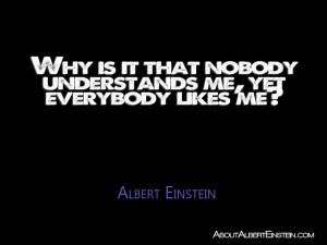 No Body Understands Me Quotes