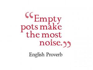 Famous English Proverbs & Sayings