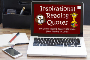 Reading Slide Show of Quotes For Guided Reading, Daily 5, SSR, DEAR