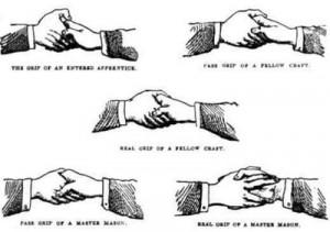 It's in the Handshakes