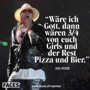 Axl Rose Zitat
