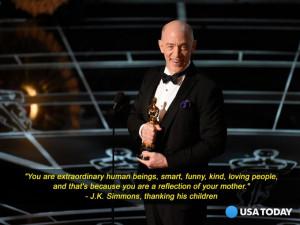 Simmons at the 2015 Oscars. (Photo: Robert Deutsch/USA Today)