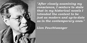 Lion feuchtwanger famous quotes 3