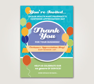 Home / Bag Stuffer , Event , Flyer / Customer Appreciation Day Flyer