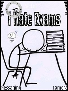 Hate exams wallpapers