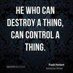 Frank Herbert Quotes