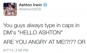 Ashton Irwin Self Harm Quotes. QuotesGram