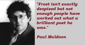 Paul muldoon famous quotes 3