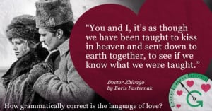 All romance, no grammar: lessons we can learn from great works of ...