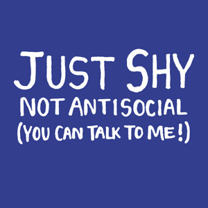 shy #introvert #antisocial #shyness #shy people problems