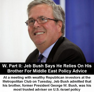 Jeb Bush is running for President