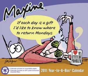 Home > Gift Ideas > Maxine 2011 Desk Calendar