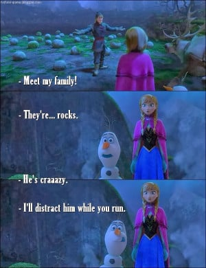 Frozen - Quote - Family of rocks