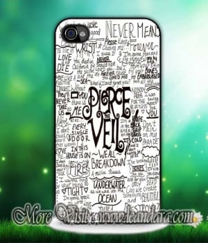 Pierce The Veil Quotes iPhone 6/6plus, iPhone 4/4S/5/5S/5C, iPod 4TH ...